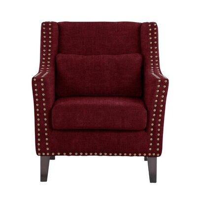 Soila Armchair Upholstery: Red/Cherry