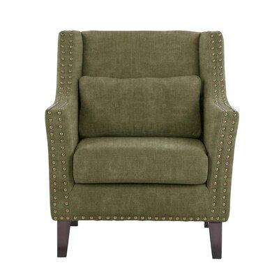 Soila Armchair Upholstery: Green/Gray