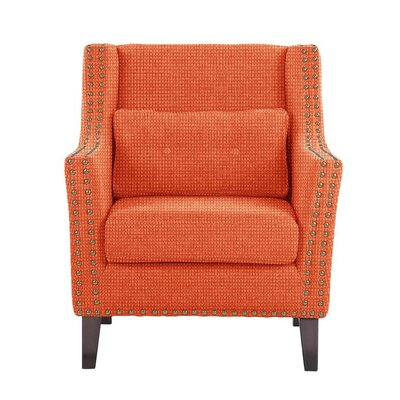 Soila Armchair Upholstery: Orange