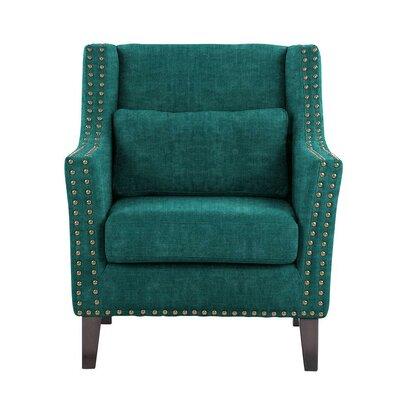Soila Armchair Upholstery: Teal/Blue