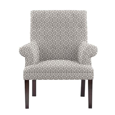 Difiore Armchair Upholstery: Off-White/Gray