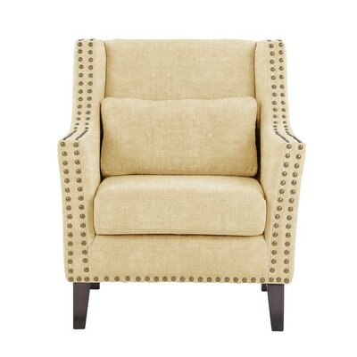 Soila Armchair Upholstery: Dark Cream