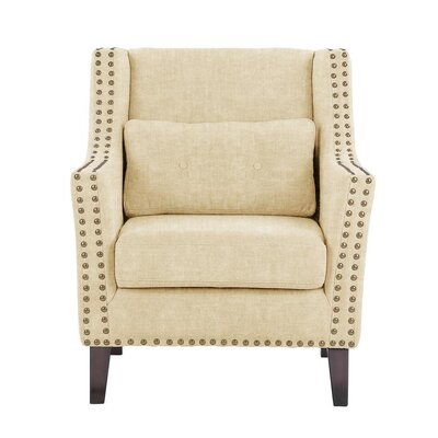 Soila Armchair Upholstery: Light Cream