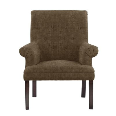 Waylon Armchair Upholstery: Brown