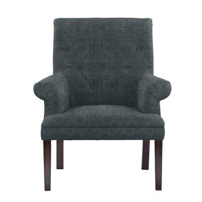 Waylon Armchair Upholstery: Dark Blue/Gray