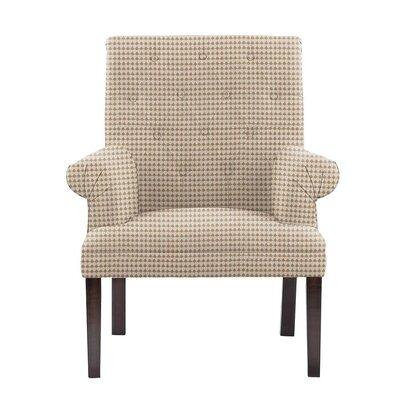 Waylon Armchair Upholstery: Cream/Tan