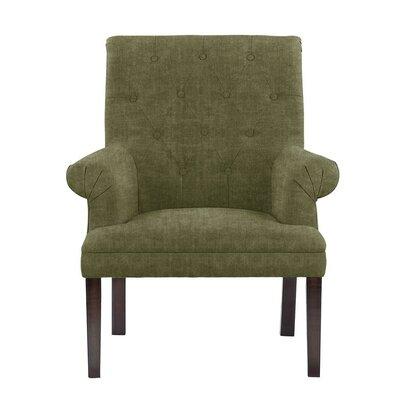 Waylon Armchair Upholstery: Green/Gray