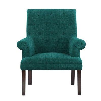 Waylon Armchair Upholstery: Teal/Blue