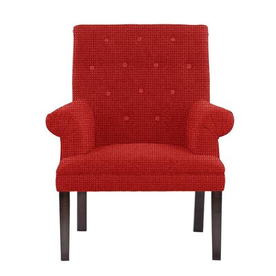 Waylon Armchair Upholstery: Red