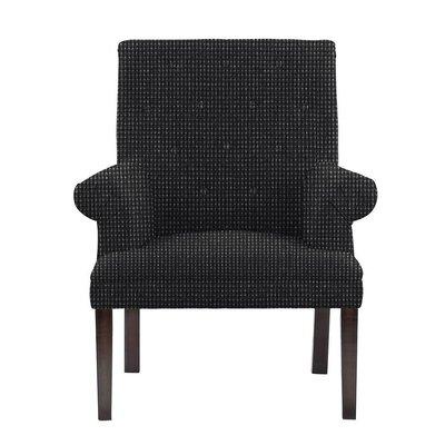 Waylon Armchair Upholstery: Black