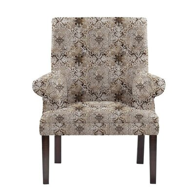 Obryant Armchair Upholstery: Brown/Gray/Tan