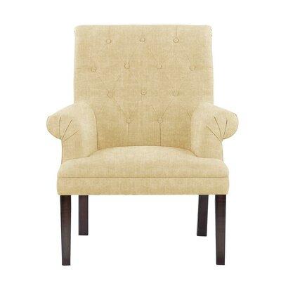 Waylon Armchair Upholstery: Dark Cream