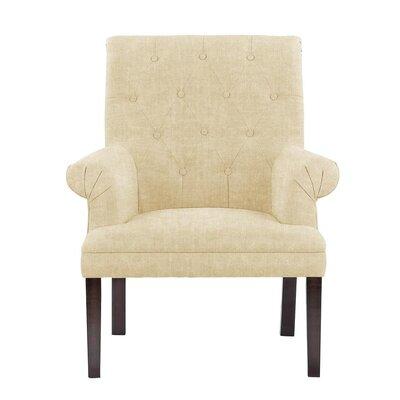 Waylon Armchair Upholstery: Light Cream