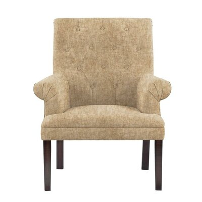 Hippocrates Armchair Upholstery: Tan/Beige