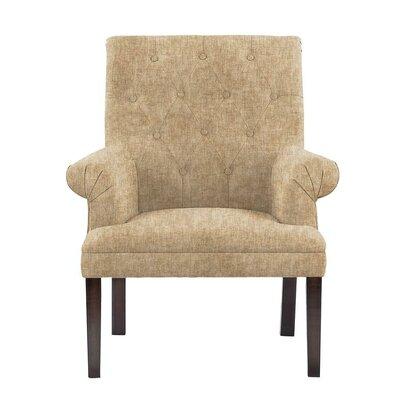 Hippocrates Armchair Upholstery: Tan/Beige