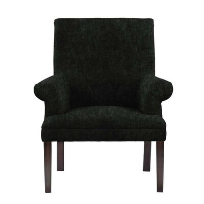 Hippocrates Armchair Upholstery: Black