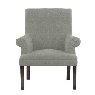 Hippocrates Armchair Upholstery: Gray