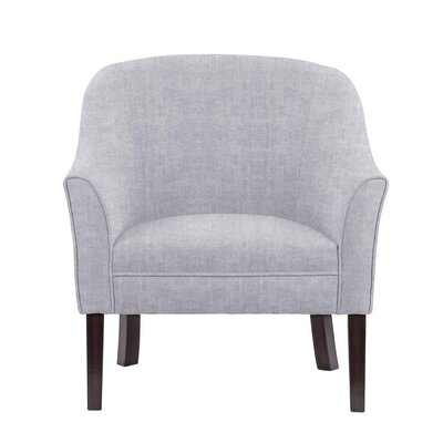 Difranco Club Chair Upholstery: Light Blue/Gray