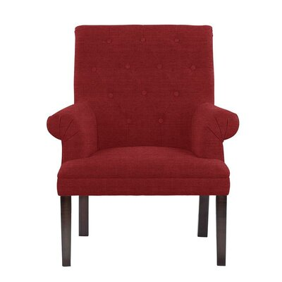 Hippocrates Armchair Upholstery: Red