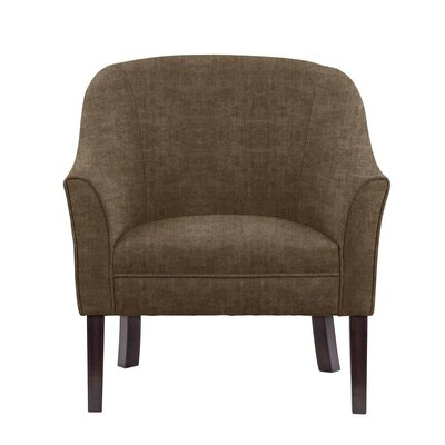 Difranco Club Chair Upholstery: Brown