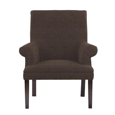 Hippocrates Armchair Upholstery: Brown
