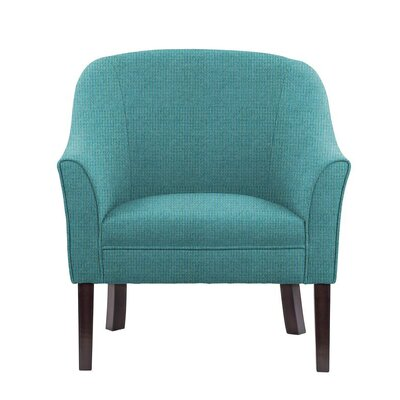 Difranco Club Chair Upholstery: Teal