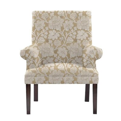 Somer Armchair Upholstery: Beige/White