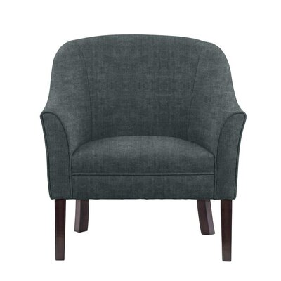 Difranco Club Chair Upholstery: Dark Blue/Gray