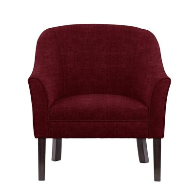Difranco Club Chair Upholstery: Red/Cherry