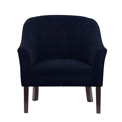 Difranco Club Chair Upholstery: Blue