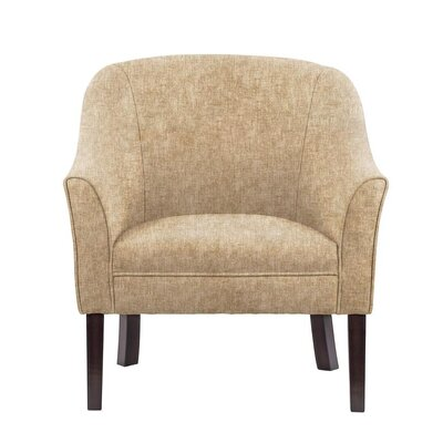 Difranco Club Chair Upholstery: Tan/Beige