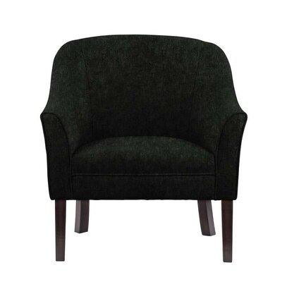 Difranco Club Chair Upholstery: Black
