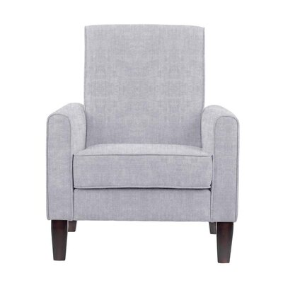 Digennaro Armchair Upholstery: Light Blue/Gray
