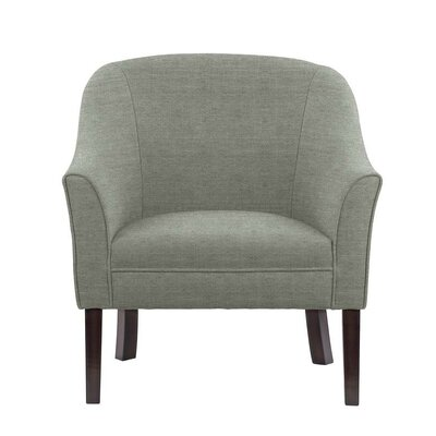 Difranco Club Chair Upholstery: Gray