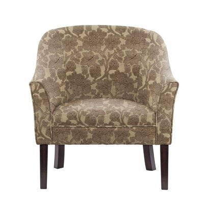 Sommer Club Chair Upholstery: Beige/Brown