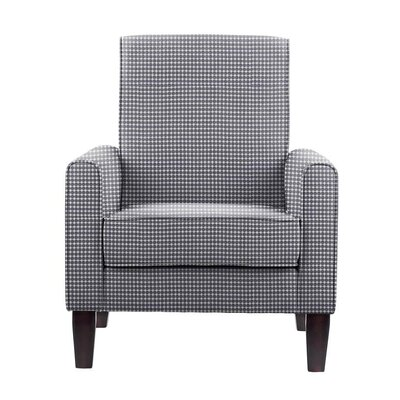 Digennaro Armchair Upholstery: Blue/White