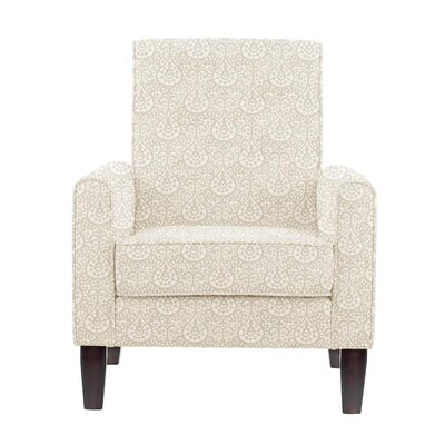 Ocallaghan Armchair Upholstery: White/Cream