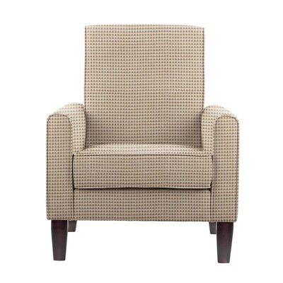 Digennaro Armchair Upholstery: Cream/Tan