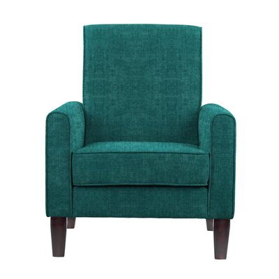 Digennaro Armchair Upholstery: Teal/Blue
