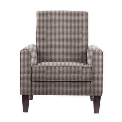 Filkins Armchair Upholstery: Brown