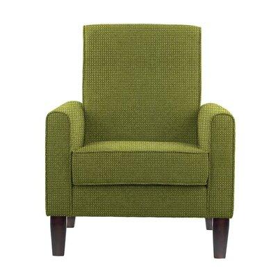 Digennaro Armchair Upholstery: Green