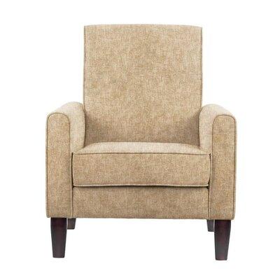 Digennaro Armchair Upholstery: Tan/Beige