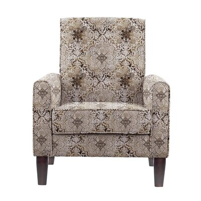 Ocallaghan Armchair Upholstery: Brown/Gray/Tan