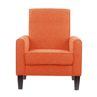 Digennaro Armchair Upholstery: Orange