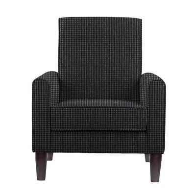 Digennaro Armchair Upholstery: Black