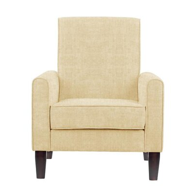 Digennaro Armchair Upholstery: Dark Cream