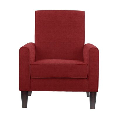 Songy Armchair Upholstery: Red