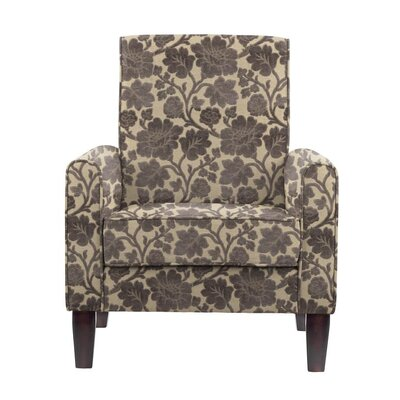 Songy Armchair Upholstery: Beige/Gray