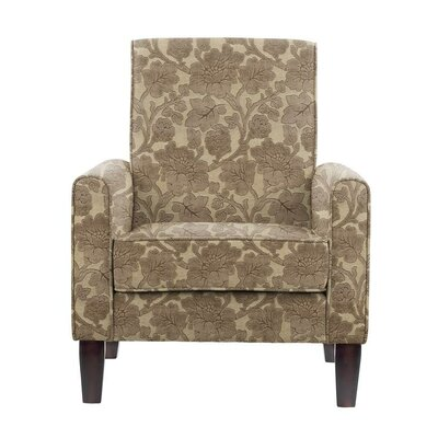 Songy Armchair Upholstery: Beige/Brown