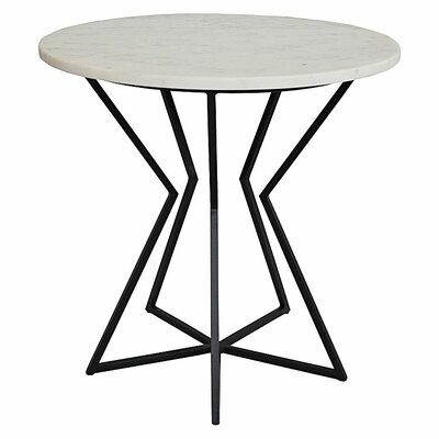 Detroit End Table Table Base Color: Black